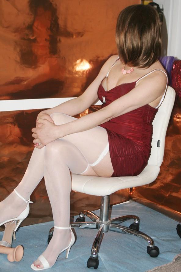 Impotent cross-dressing sissy